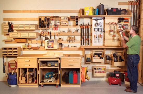 Diy Tool Storage Solutions