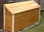 Outdoor Wood Storage Box Plans