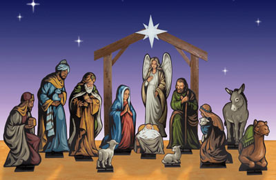 nativity creche plans