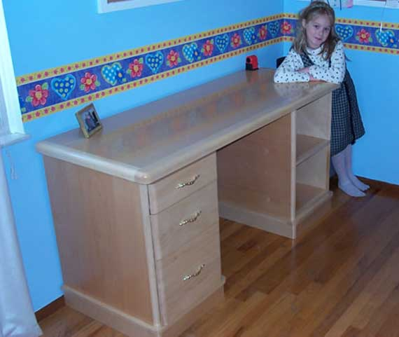 Free Writing Desk Woodworking Plans