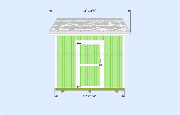 12x10 Shed Plans Free Online